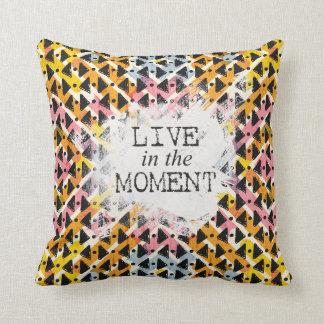 Almofada O quadril moderno vive no weave aberto do momento