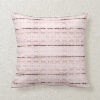 Almofada O rosa cora travesseiro decorativo do teste padrão