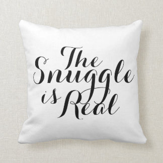 Almofada O Snuggle é travesseiro decorativo real