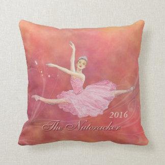 Almofada O travesseiro da lembrança do balé do Nutcracker
