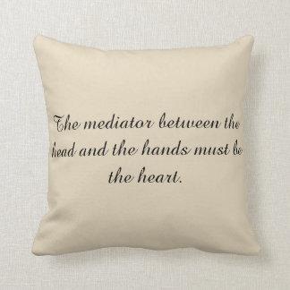 Almofada O travesseiro do mediador
