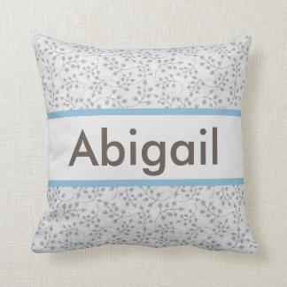 Almofada O travesseiro personalizado de Abigail