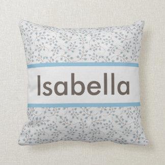 Almofada O travesseiro personalizado de Isabella