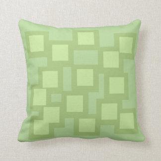 Almofada O travesseiro verde lindo/coxim Vers 1 esquadra