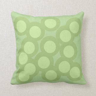 Almofada O travesseiro verde lindo/coxim Vers 2 circunda