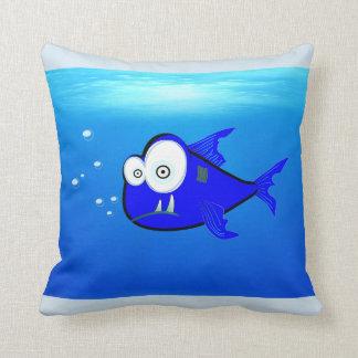 Almofada o tubarão descansa, travesseiro do tubarão do bebê