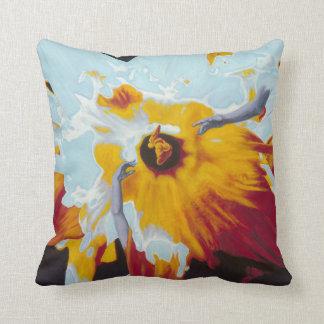 Almofada O universo como um travesseiro do Daffodil
