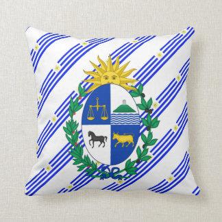 Almofada O Uruguayan listra a bandeira