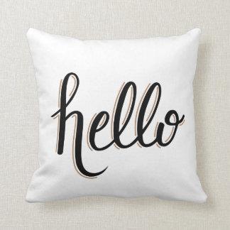 Almofada olá! travesseiro