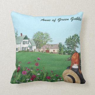 Almofada Olhando sobre com amor, Anne de frontões verdes