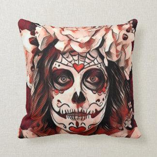 Almofada Olhe em meu travesseiro decorativo do DOD dos