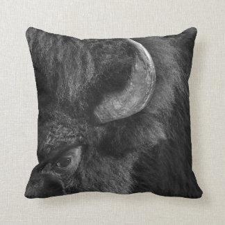 Almofada Olho observador do bisonte dominante de Bull