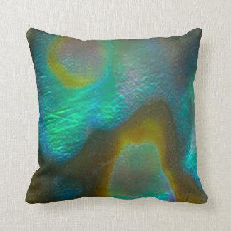 Almofada Olmo Shell do verde azul