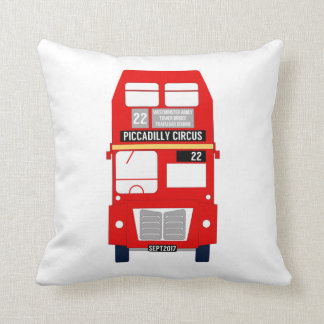 Almofada Ônibus de Londres/coxim de Union Jack