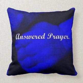 Almofada Oração-Azul respondido