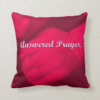 Almofada Oração-Cor-de-rosa respondido