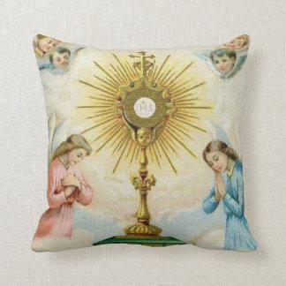 Almofada Oração dos anjos de Fatima