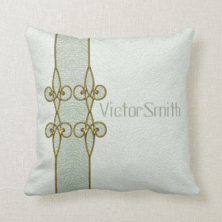 Almofada Ornamento personalizado na moda do vintage do art
