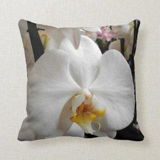 Almofada Orquídea branca