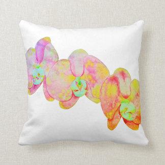 Almofada Orquídeas das caraíbas