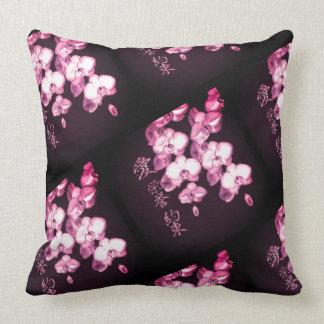 Almofada Orquídeas japonesas