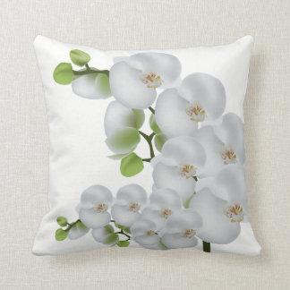 Almofada Orquídeas Travesseiro-Brancas do lance