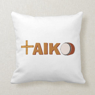 Almofada Os bateristas do travesseiro de Taiko dos