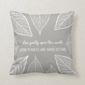 Almofada Os bons planetas são travesseiro decorativo