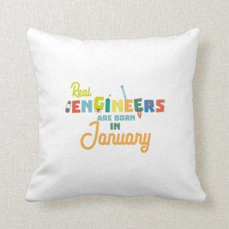Almofada Os engenheiros são em janeiro Zn619 nascidos