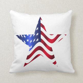Almofada Os Estados Unidos e travesseiro decorativo da