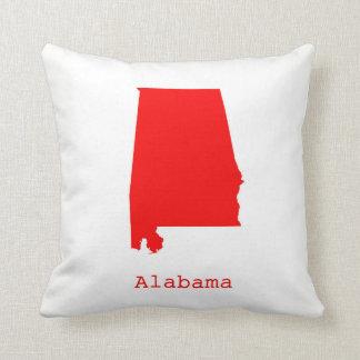 Almofada Os Estados Unidos mínimos de Alabama