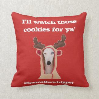 Almofada Os feijões olharão seus biscoitos, piscar os olhos