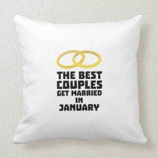 Almofada Os melhores casais em janeiro Z00xc