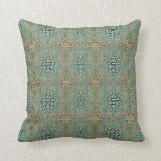 Almofada Outdoor-Indoor-Blue-Cream--Damask-Pillow-Sets