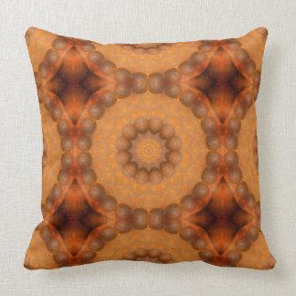 Almofada Oxidação-Mandala, cores de Rust_744_3
