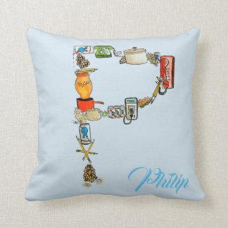 Almofada P personalizado é para o travesseiro do _____