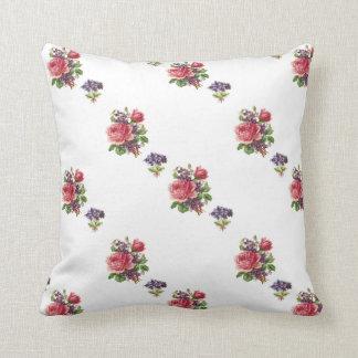 Almofada Pacotes de violetas e de travesseiro reversível