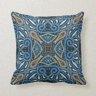 Almofada Padrões do árabe do travesseiro