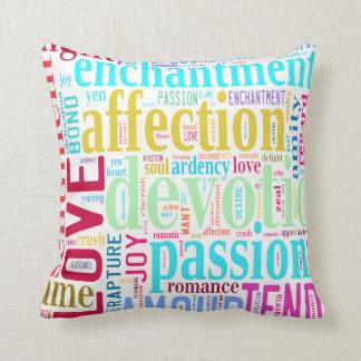 Almofada Palavras do amor #2