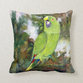 Almofada Papagaio amarelo de Cydney Naped