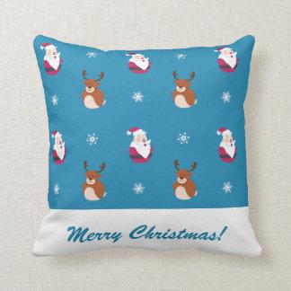 Almofada Papai noel bonito do Natal & travesseiro de