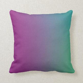 Almofada Papel de parede colorido em um travesseiro