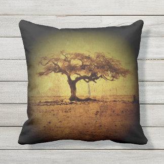 Almofada Para Ambientes Externos Árvore rústica