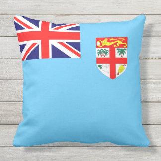 Almofada Para Ambientes Externos Bandeira da ilha de Fiji