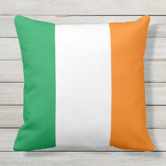 Almofada Para Ambientes Externos Bandeira do trevo de Ireland