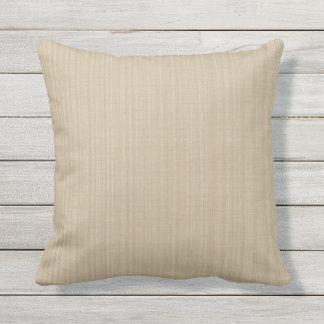Almofada Para Ambientes Externos Da variação Khaki da máscara do Taupe travesseiro