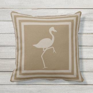 Almofada Para Ambientes Externos Flamingo exterior OP1010 geométrico do travesseiro