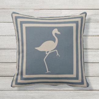 Almofada Para Ambientes Externos Flamingo exterior OP1011 geométrico do travesseiro