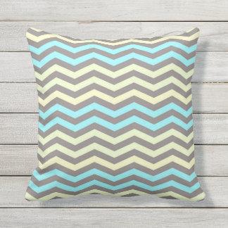 Almofada Para Ambientes Externos Listras coloridas, travesseiro decorativo