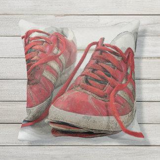 Almofada Para Ambientes Externos O divertimento quebrado calça o travesseiro